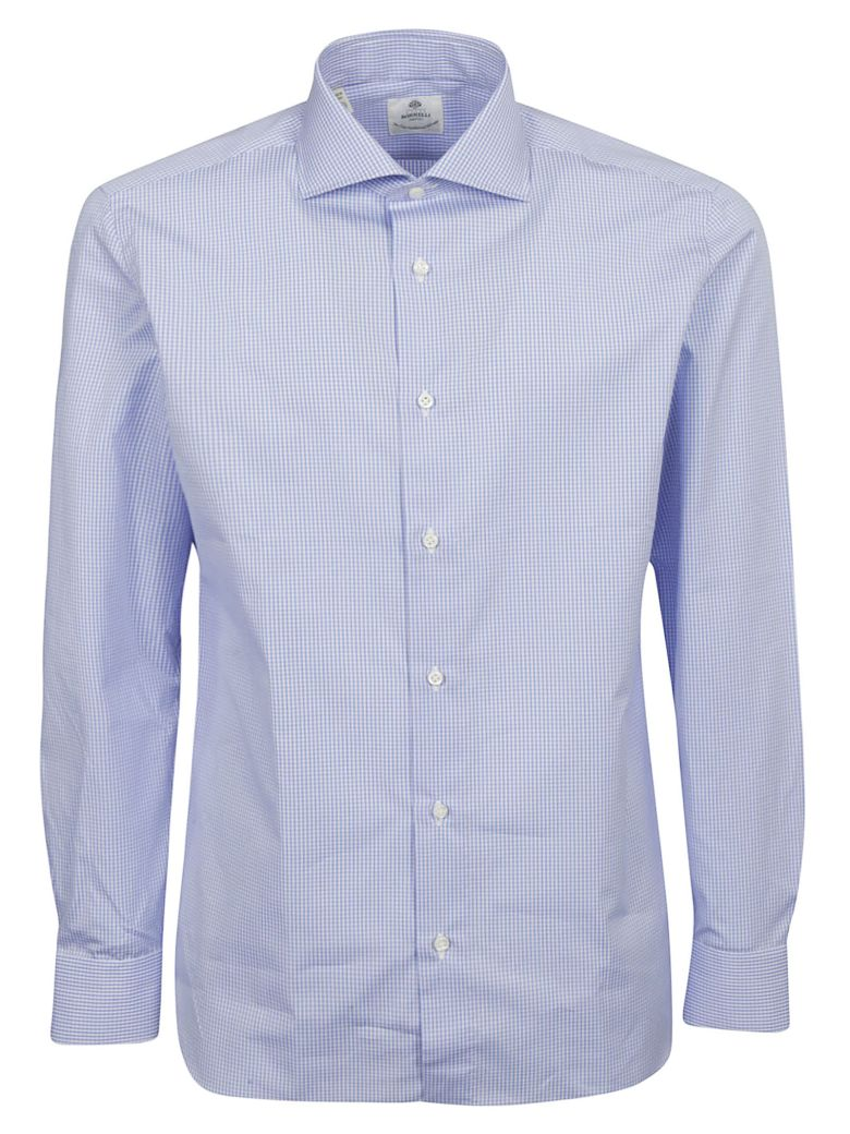 Luigi Borrelli Checked Print Shirt - Basic