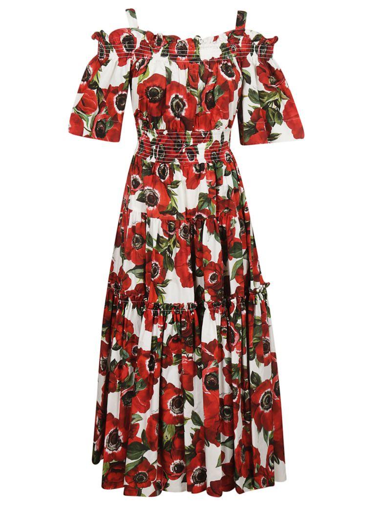 Dolce & Gabbana Anemone Print Dress - Basic