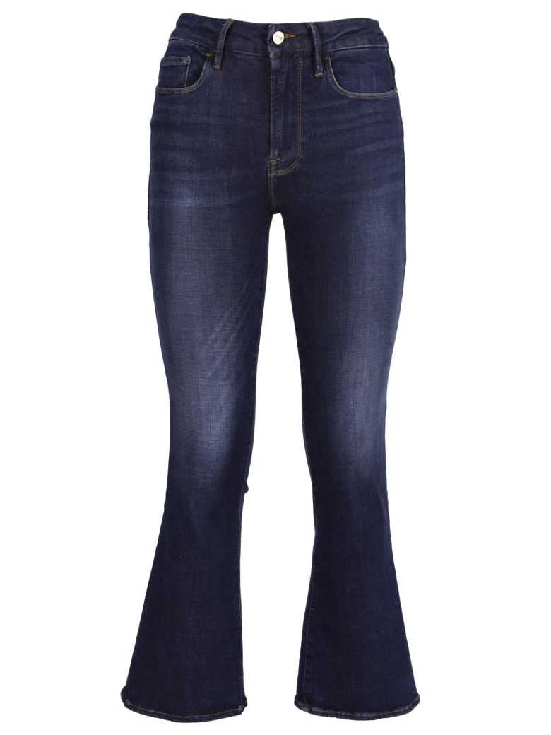 Frame Flared Jeans - Blue