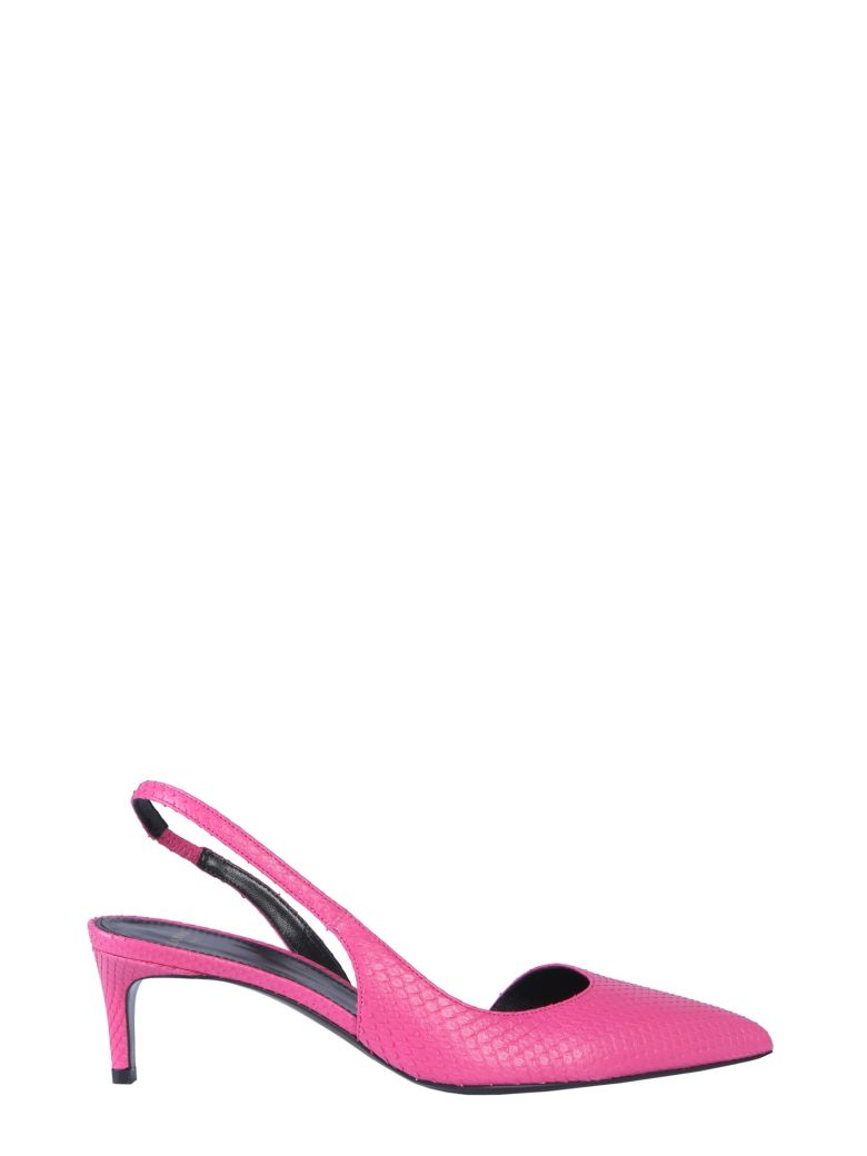 Lanvin Décolleté Pumps With Back Strap - FUCSIA