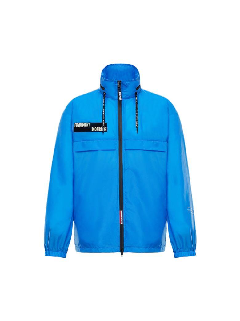 Moncler Genius Logo Patch Jacket - Blue