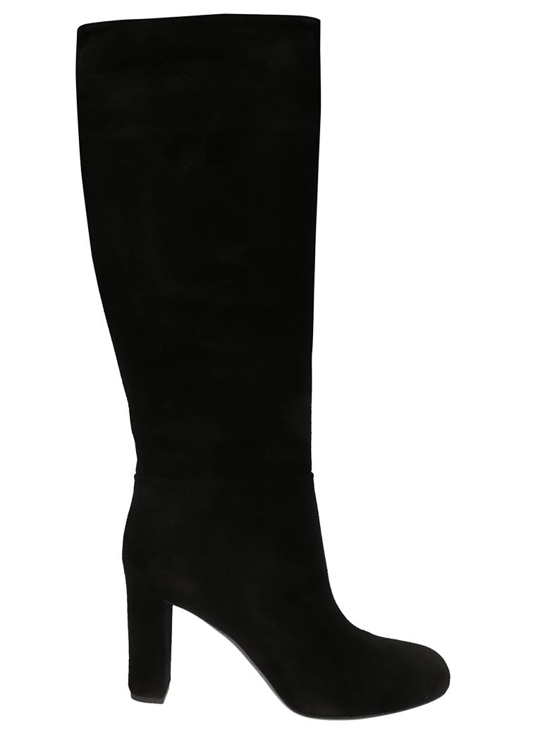Roberto del Carlo Side Zip Boots - Black