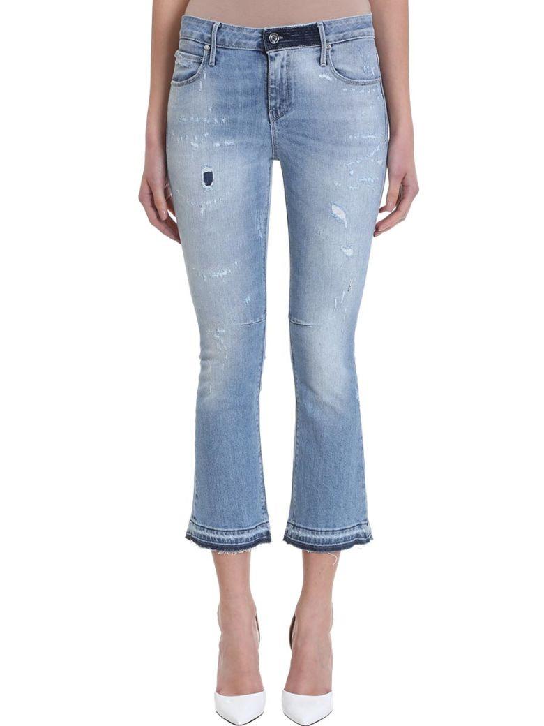 RTA Cropped Flared Jeans - Basic