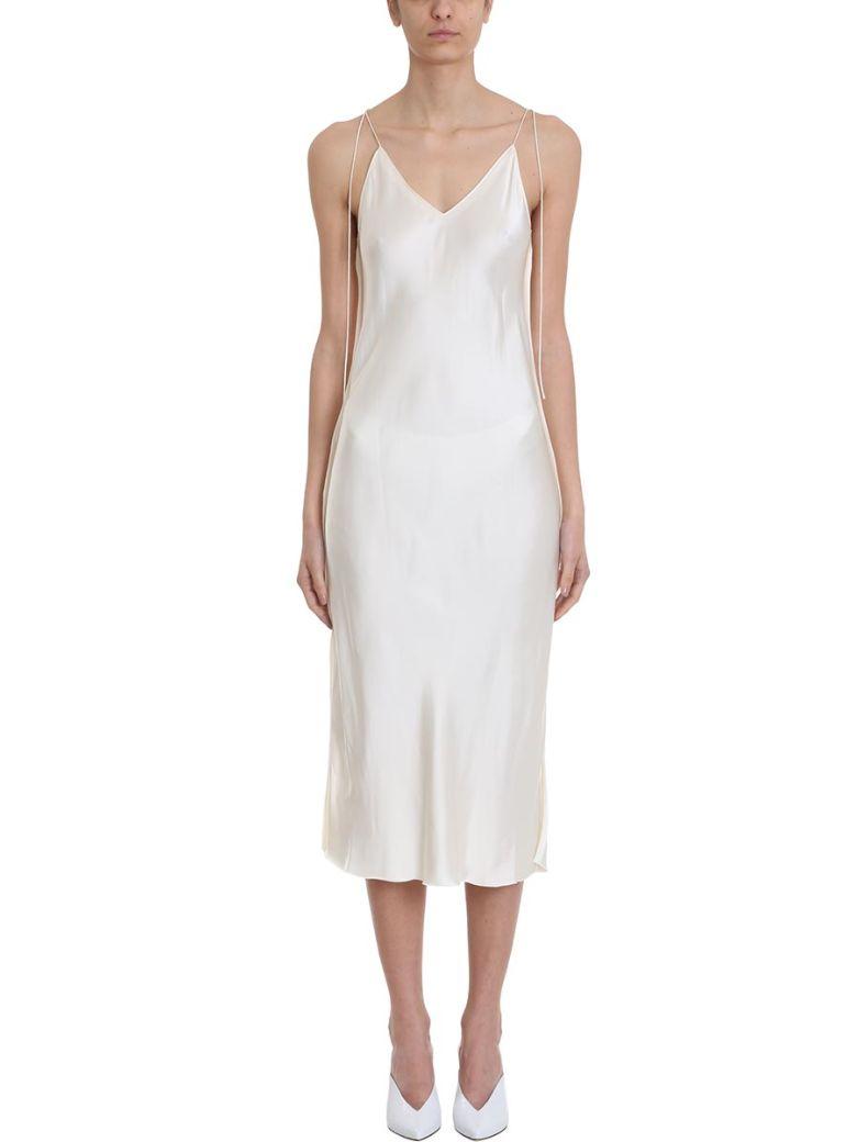 Helmut Lang Raw Slip Dress - Beige