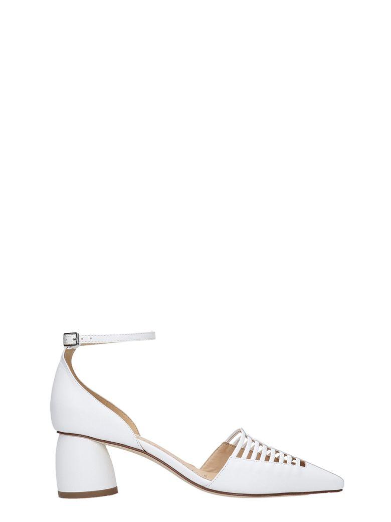 Fabio Rusconi Sandals In White Leather - white
