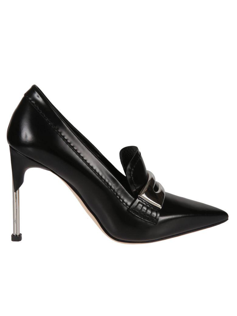 Alexander McQueen Watson High Heel Pumps - Black/silver