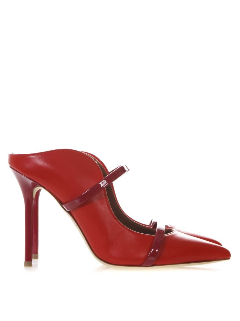 Malone Souliers Maureen Red Leather Pumps - Red