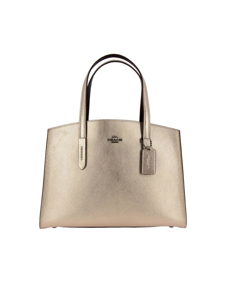 Coach Handbag Shoulder Bag Women Coach - gold