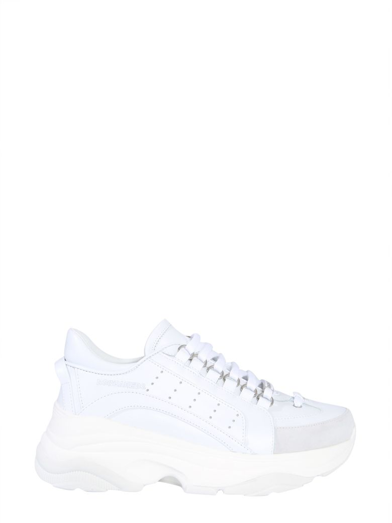 Dsquared2 Pumpy 551 Sneakers - BIANCO