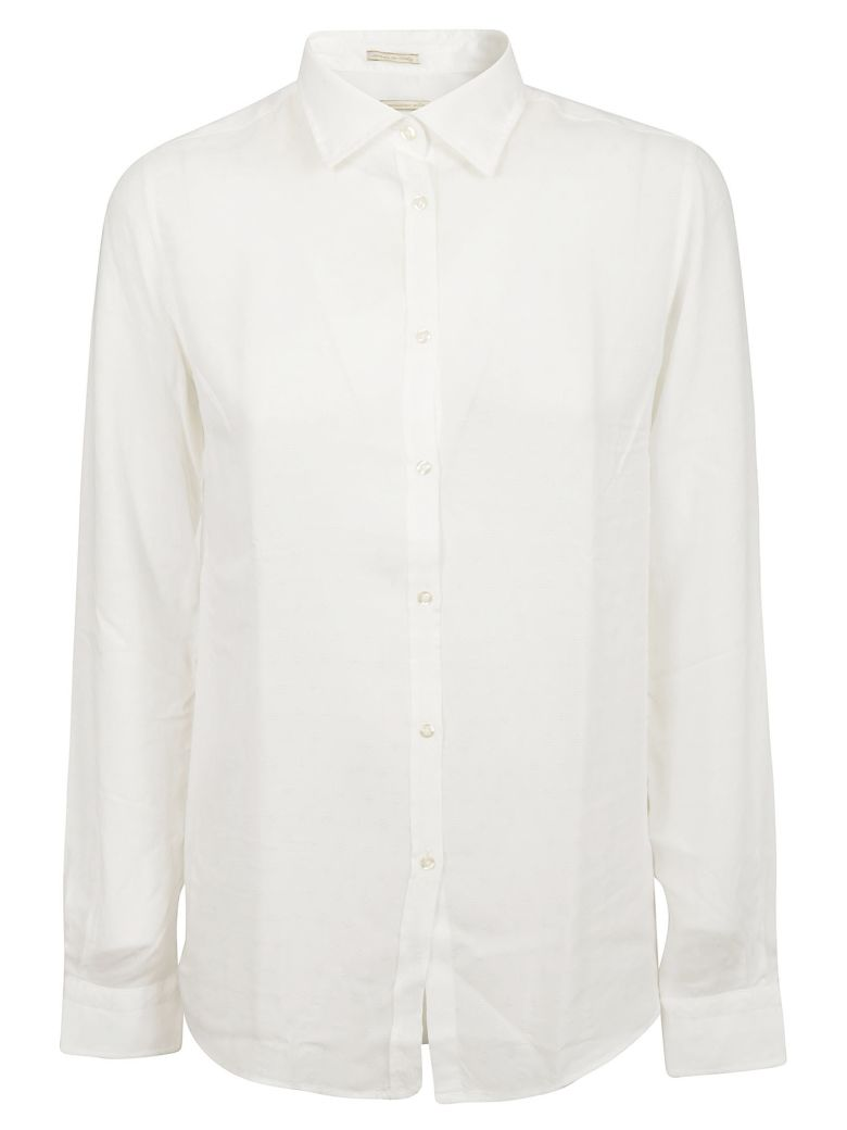 Massimo Alba Button-up Shirt - Milk