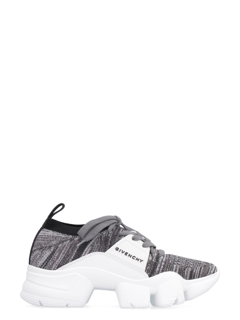 Givenchy Jaw Knitted Low-top Sneakers - White