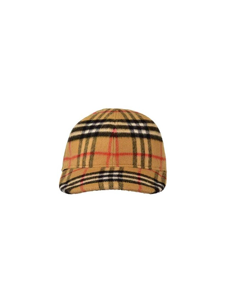 9349104795 Burberry Burberry Vintage Check Baseball Cap - Antique Yel Ip Chk ...