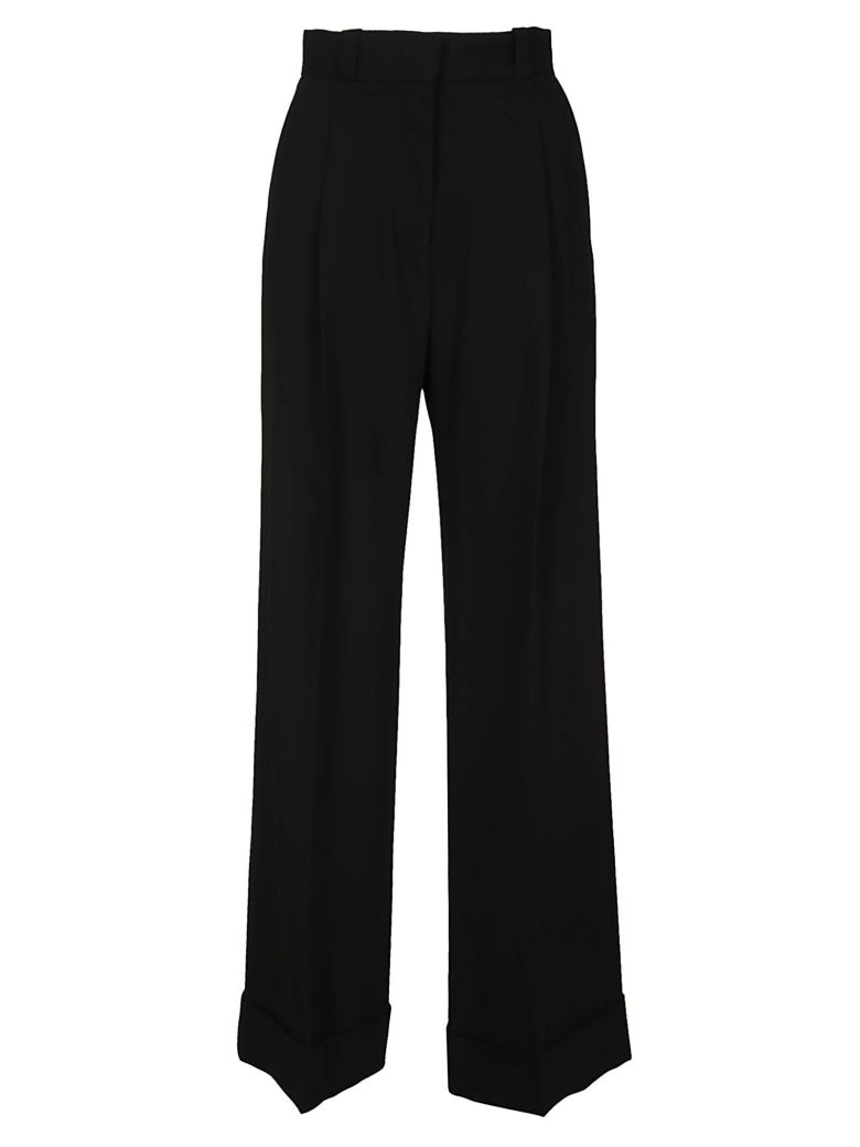 See by Chloé Structured Flared Trousers - Black
