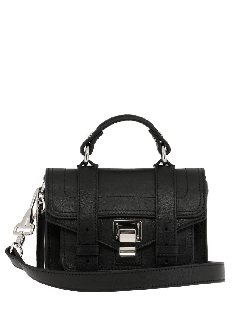 Proenza Schouler Ps1 Micro Satchel - BLACK