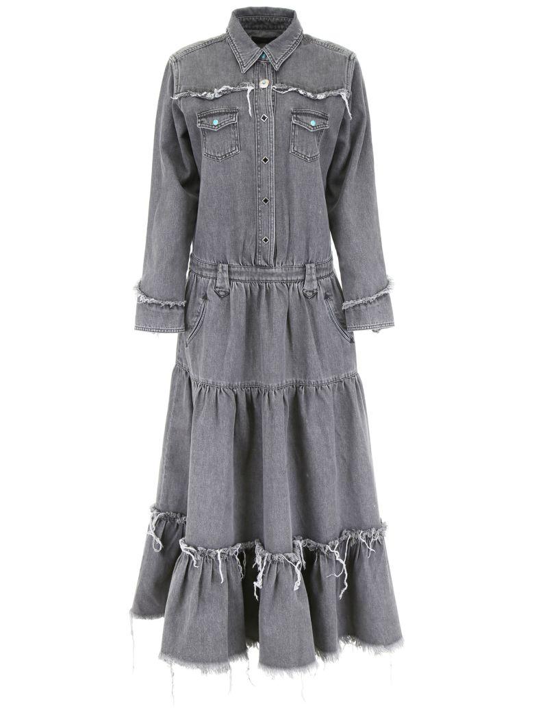 Alanui Denim Dress - SILVERLAKE WASH (Grey)