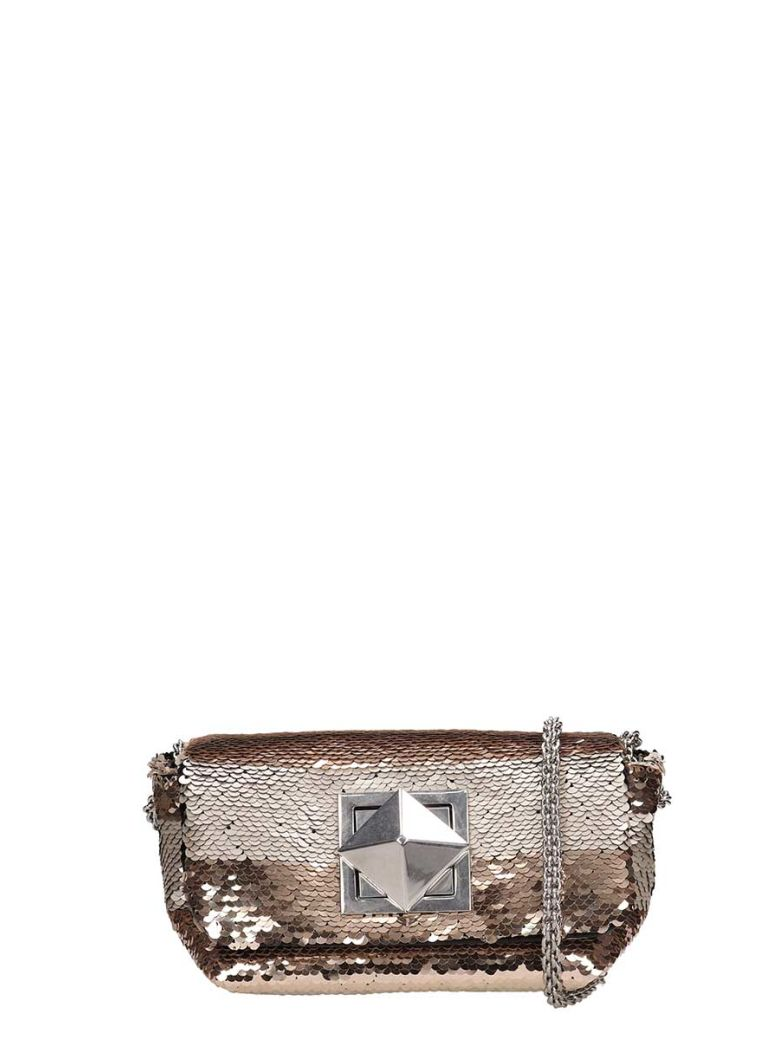 Sonia Rykiel Le Copain Sequin Bag - beige