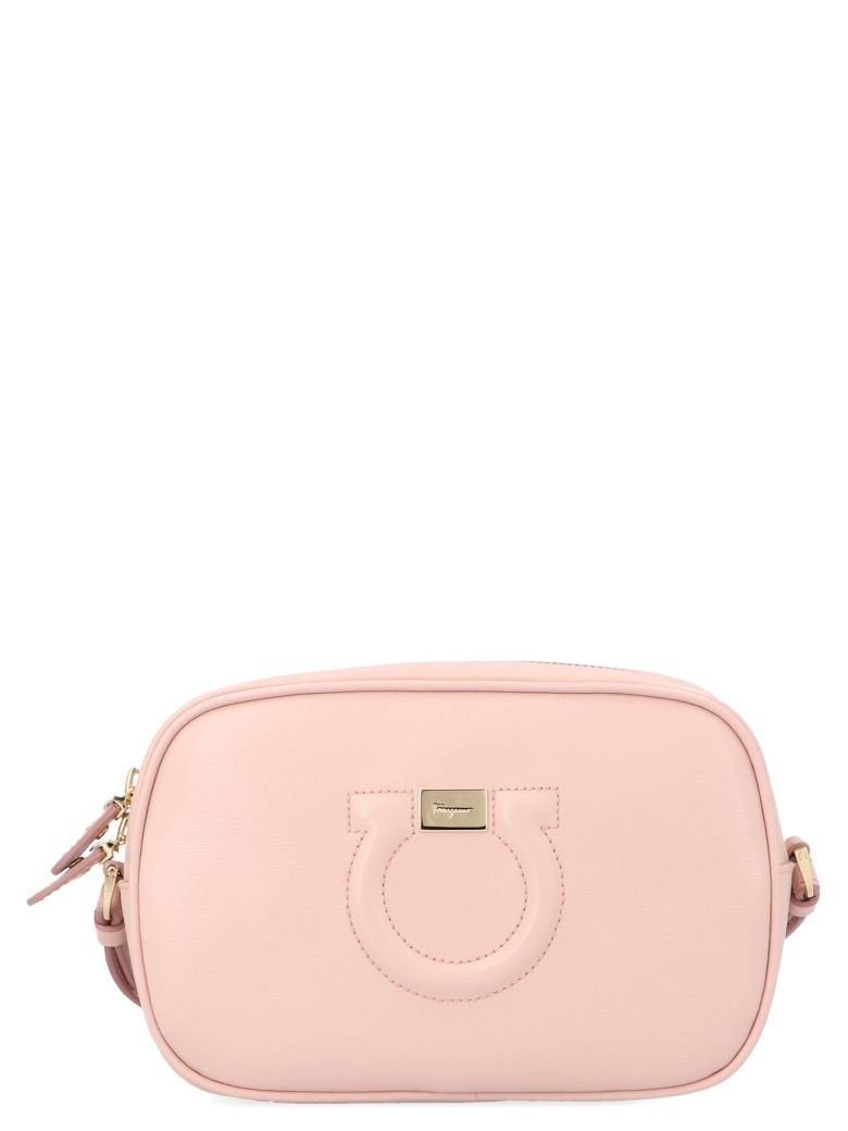 Salvatore Ferragamo 'city Cc' Bag - Pink