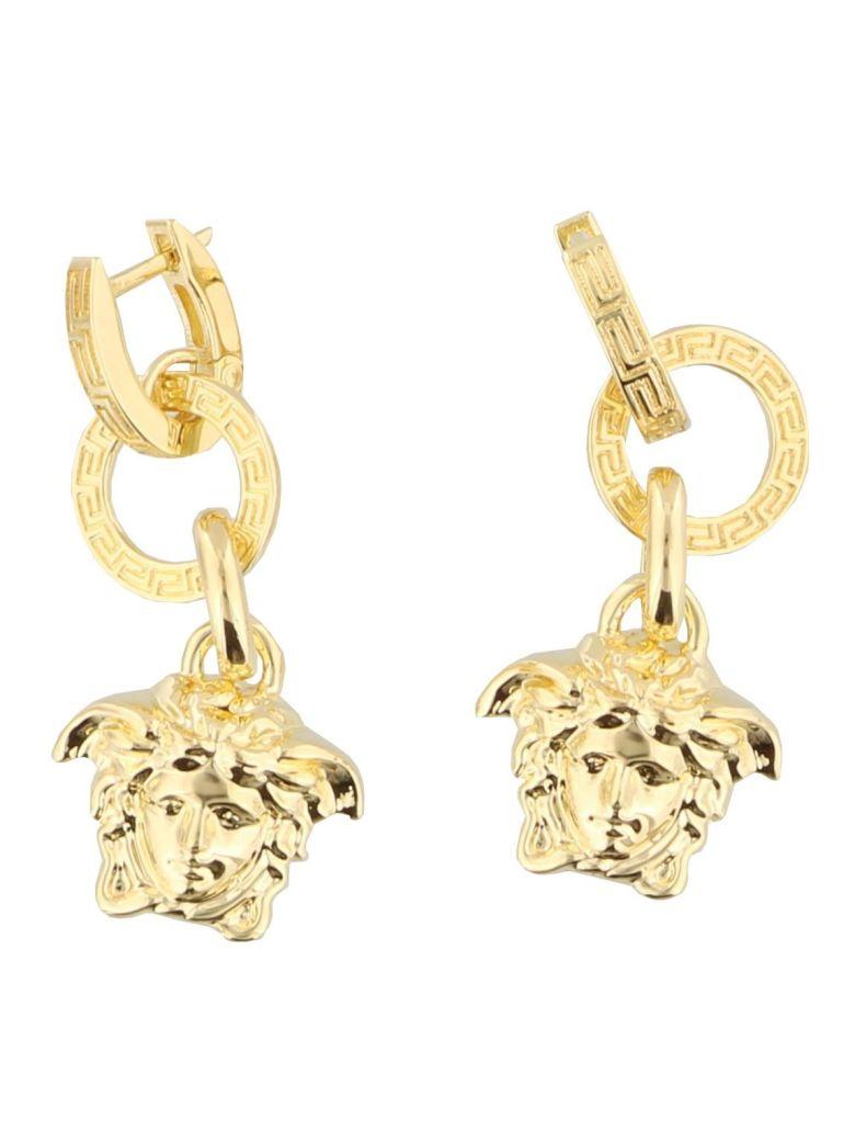 Versace Medusa Earrings - Gold