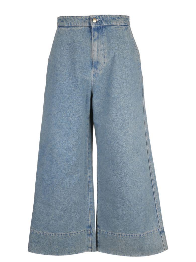 Loewe Flared Leg Jeans - Blue