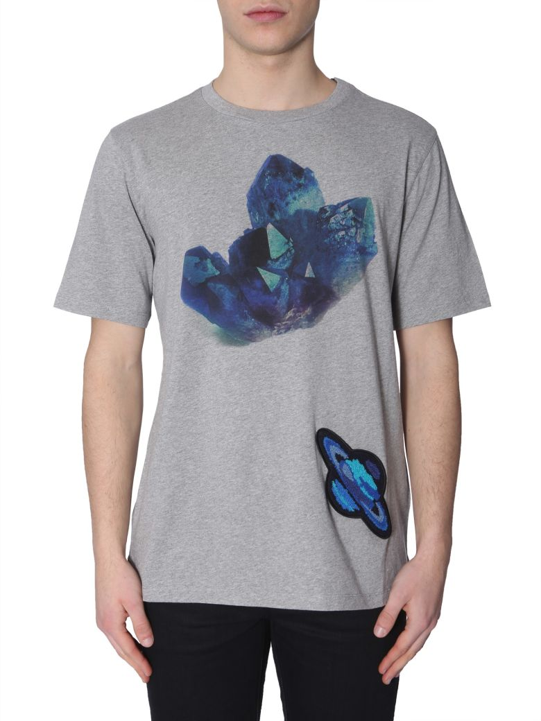 Paul Smith Round Neck T-shirt - GRIGIO