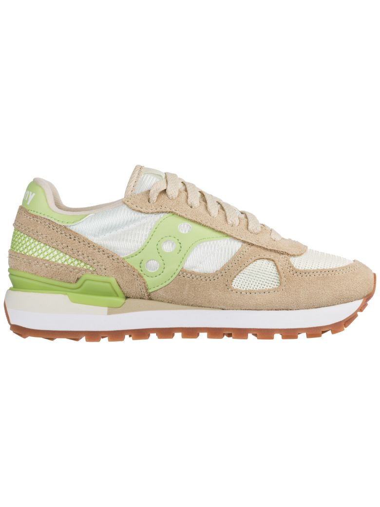 Saucony  Shoes Suede Trainers Sneakers Shadow O - White