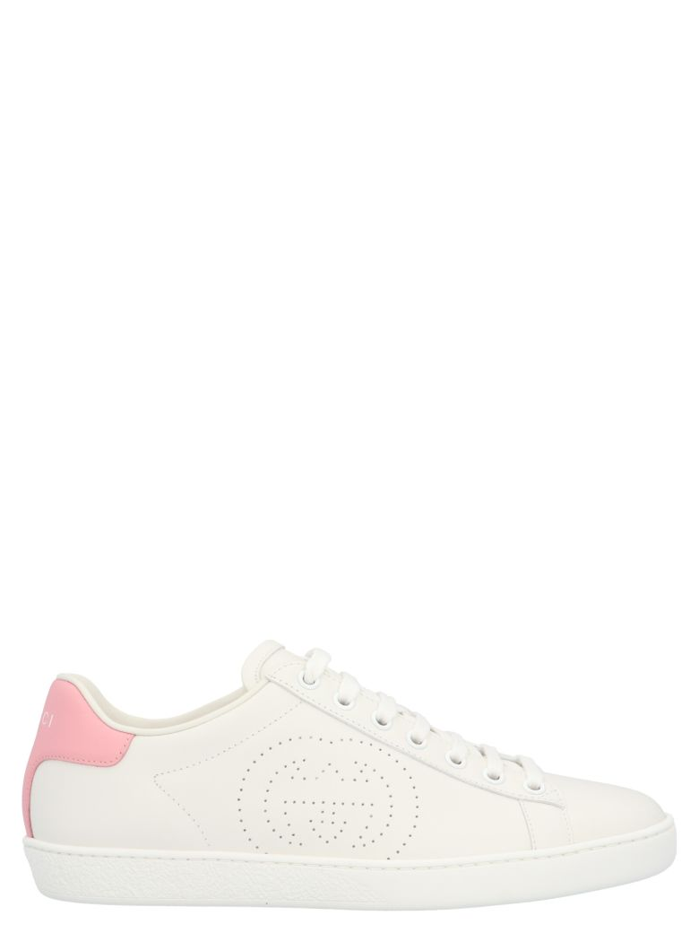 Gucci 'new Ace' Shoes - White