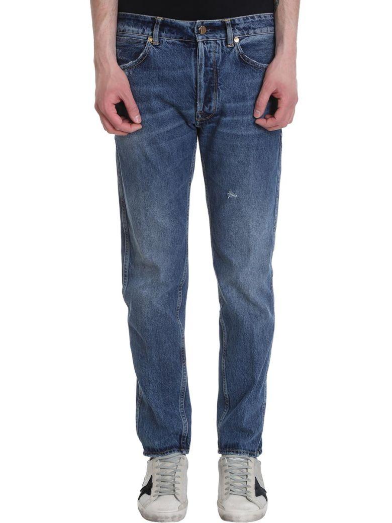 Golden Goose Blue Denim Free Jeans - blue