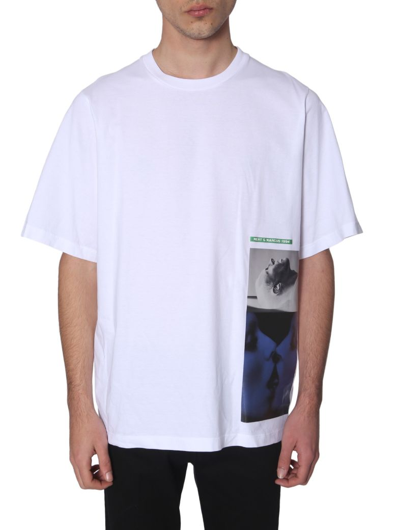 Dsquared2 Collaboration With Mert & Marcus 1994 T-shirt - BIANCO