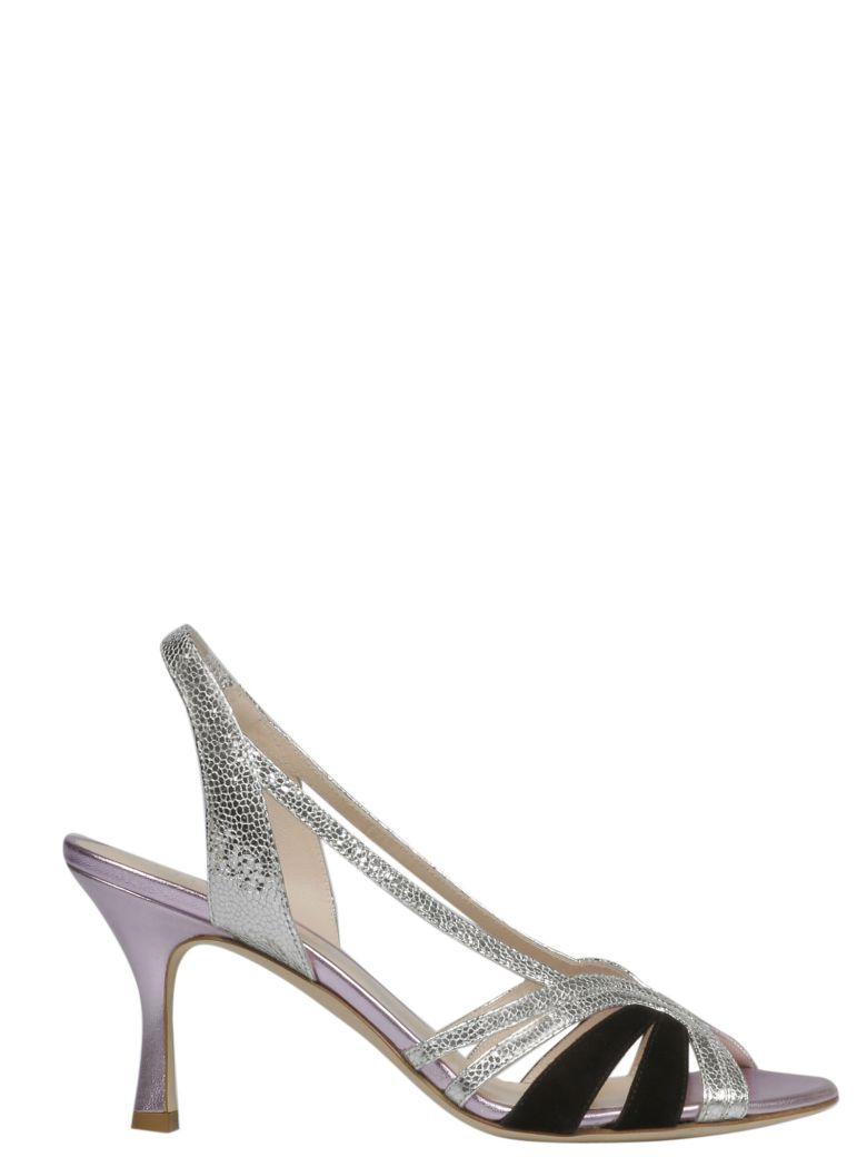 GIA COUTURE Diamante Slingback Sandals - Basic