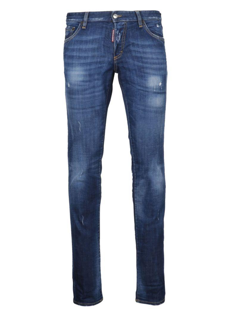 Dsquared2 Distressed Slim Jeans - Basic