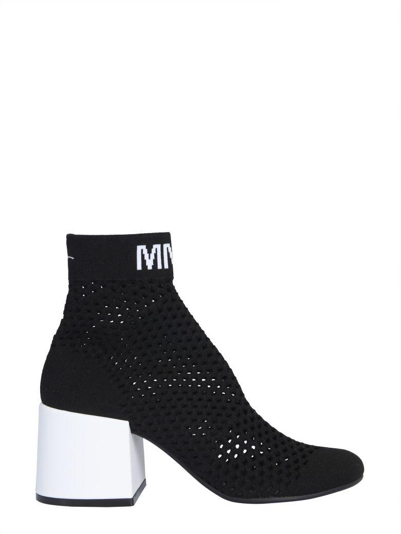 MM6 Maison Margiela Knitted Boots - NERO