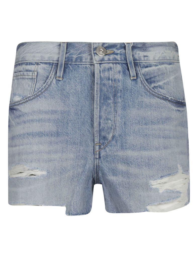 3x1 Faded Frayed Shorts - Joan