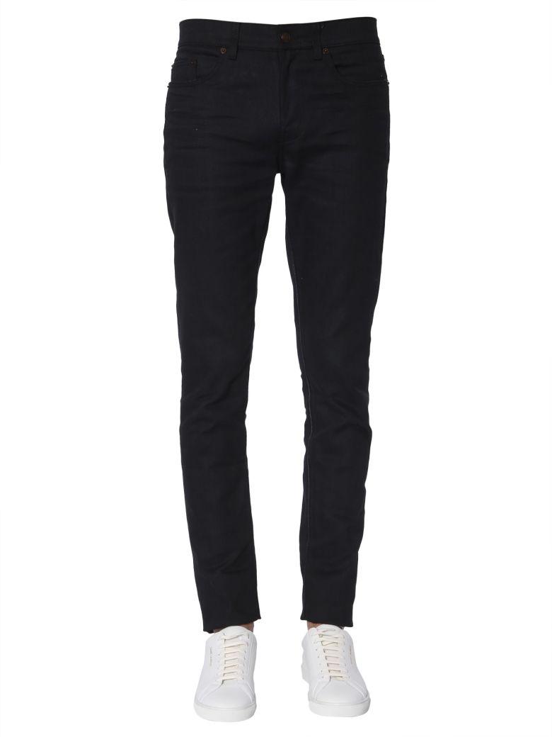 Saint Laurent Low Waist Jeans - NERO