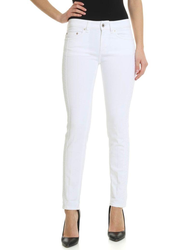 Dondup Monroe Skinny Jeans - Bianco
