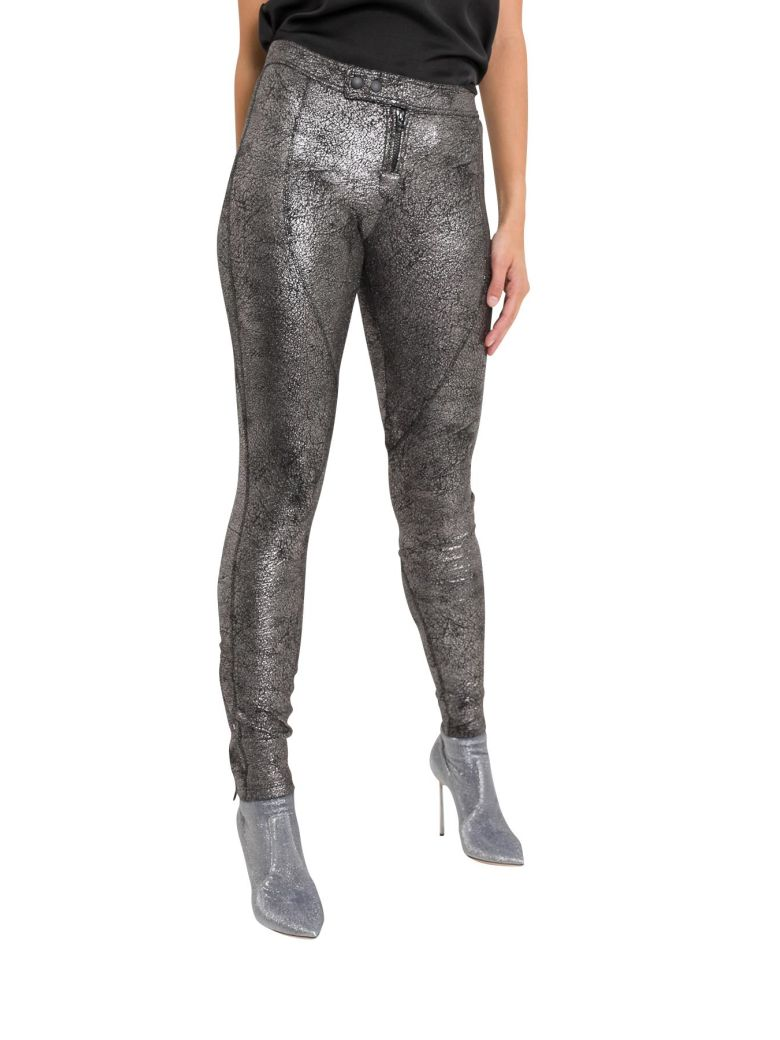 Faith Connexion Metal Trousers - Silver