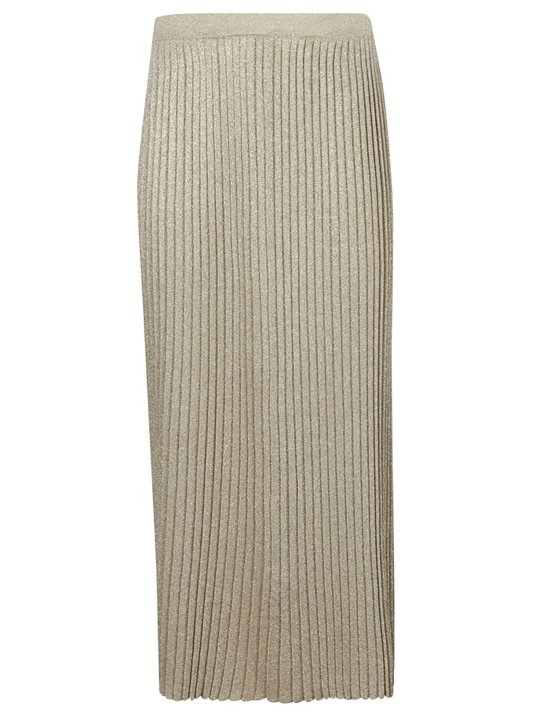 Charlott Pleated Skirt - Oro Chiaro
