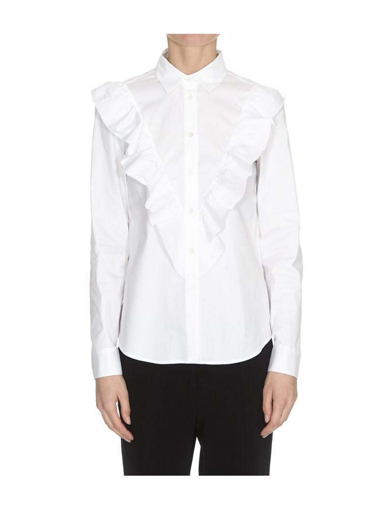 RED Valentino Popeline Shirt - White