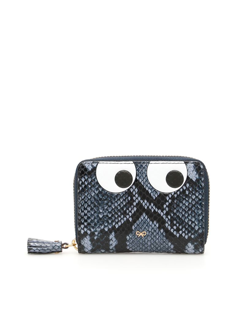 Anya Hindmarch Small Zip Around Eyes Wallet - Basic