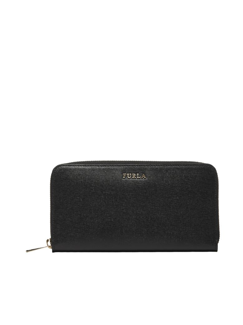 Furla Babylon Zip Around Wallet - Nero