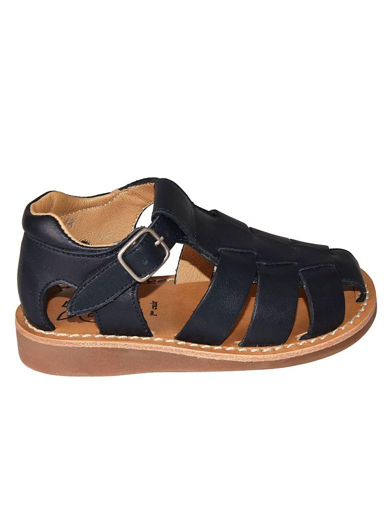 Pom d'Api Yapo Papy Sandals - Black/Brown
