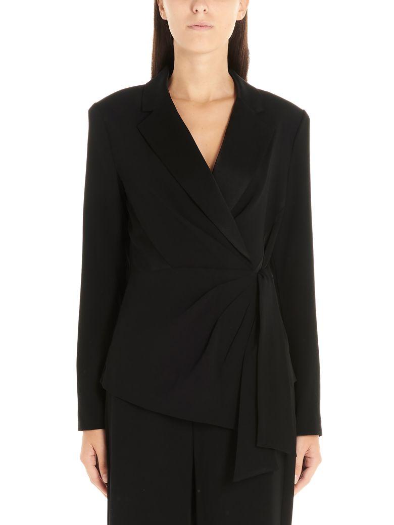 Diane Von Furstenberg 'lana' Wool Jacket - Black