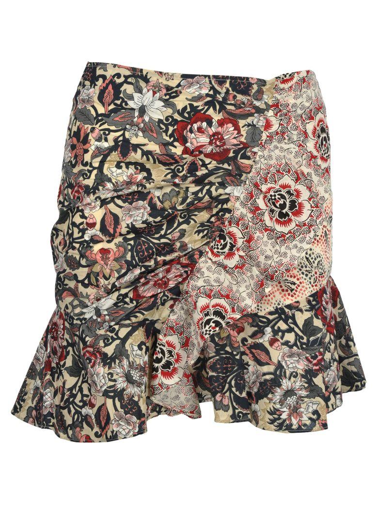 Isabel Marant Étoile Im Etoile Isabel Marant étoile Loz Mini Skirt - RED PRINT MULTI