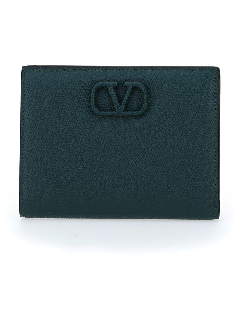 Valentino Garavani Wallet - English green