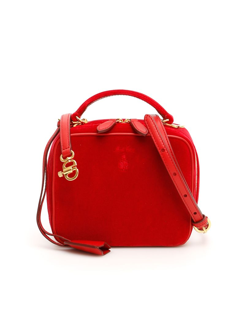 Mark Cross Baby Laura Bag - RED (Red)