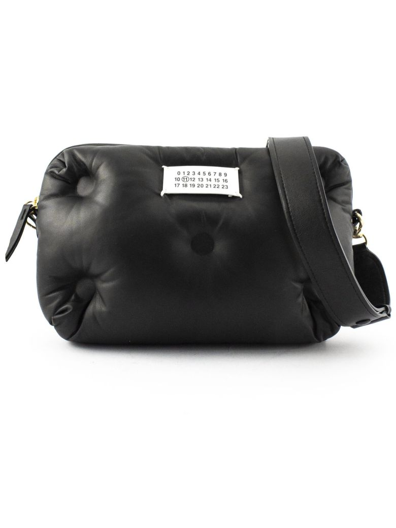 Maison Margiela Black Glam Slam Bag In Black Pouch Bag - Nero