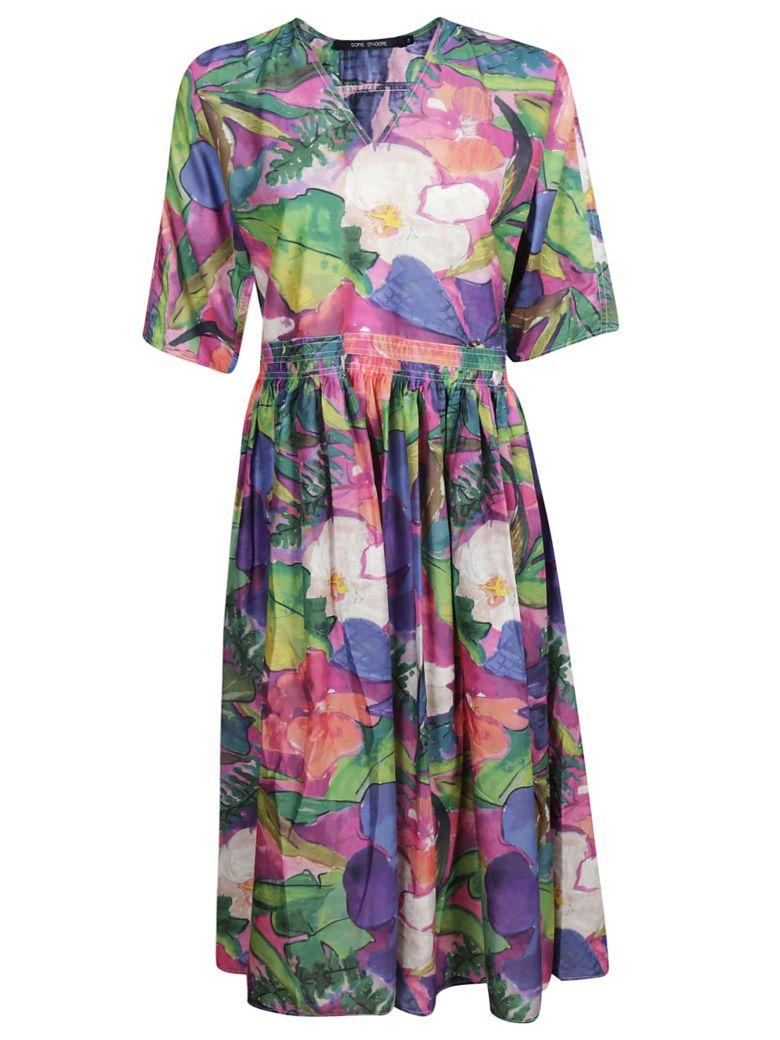 Sofie d'Hoore Floral Dress - Multicolor