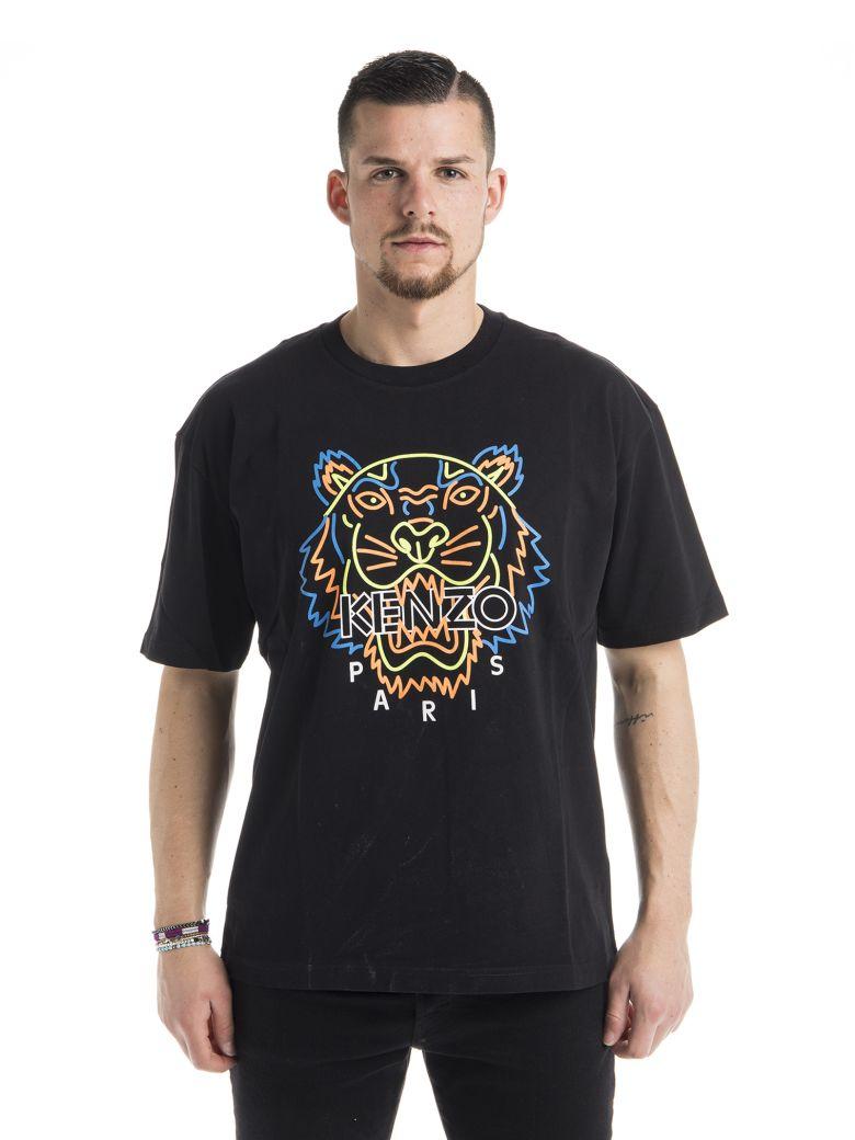 b2b28ecb Kenzo Kenzo Neon Tiger Print T-shirt - Black - 10907895 | italist
