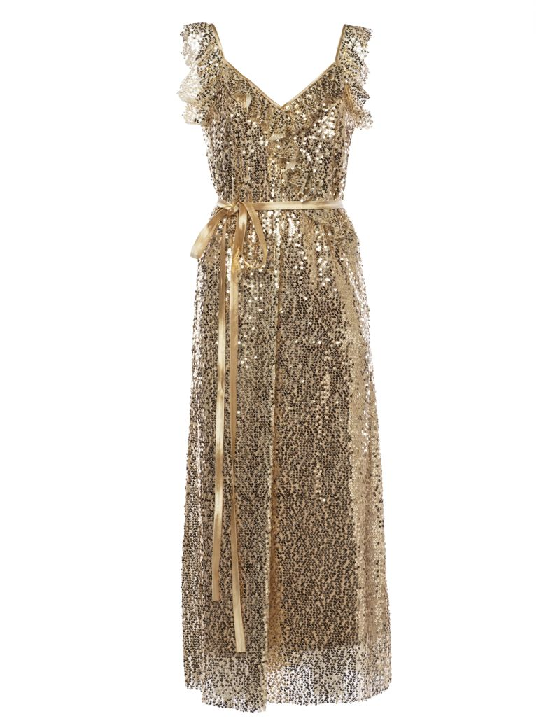 In The Mood For Love Jasmine Dress - Gold