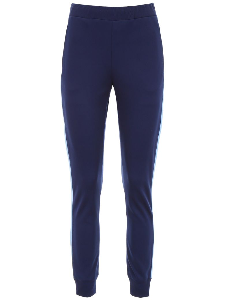 Prada Linea Rossa Joggers With Side Band - BALTICO+AZZURRO|Blu