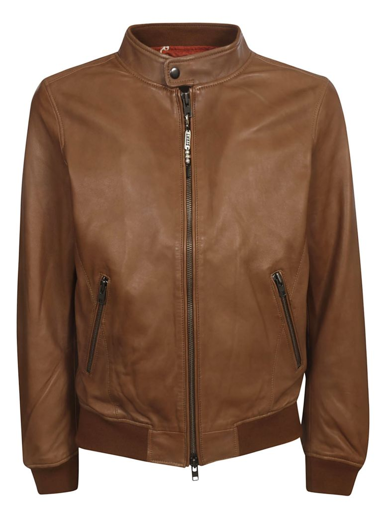 S.W.O.R.D 6.6.44 Band Collar Bomber - Brown